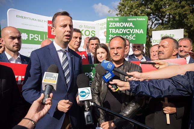 Wybory parlamentarne 2019. Liderzy Koalicji Polskiej spotkali się z wyborcami w Lublinie