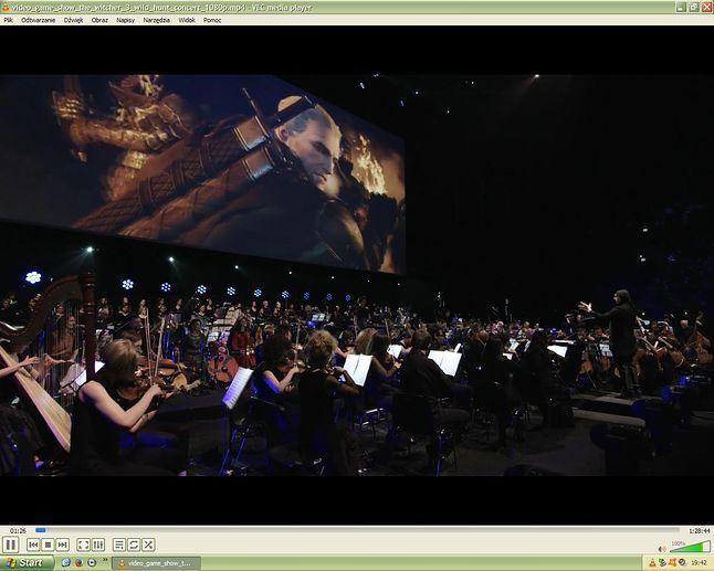 Fragment koncertu Video Game Show — Wiedźmin 3: Dziki Gon