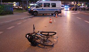 Tragiczny wypadek z udziałem rowerzystki. Nie miała szans