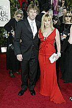 Patricia Arquette i Thomas Jane na ślubnym kobiercu