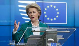 W związku z koronawirusem Ursula von der Leyen zaproponowała czasowe zamknięcie granic Unii Europejskiej