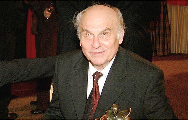 Ryszard Kapuściński - zdjęcie archiwalne z 2002 r.