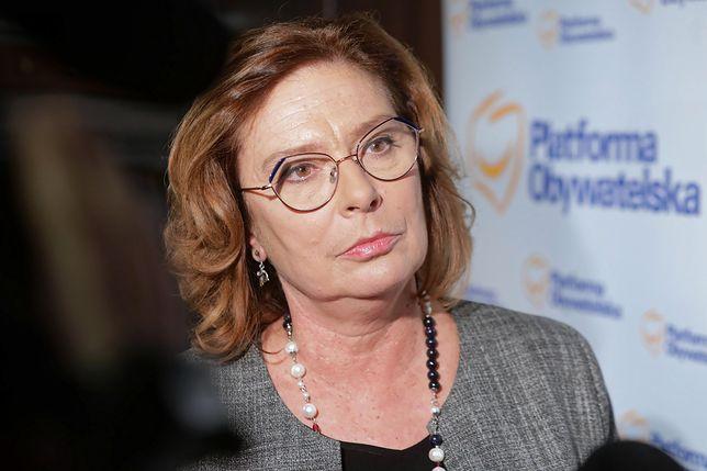 Małgorzata Kidawa-Błońska ostro o prezydencie