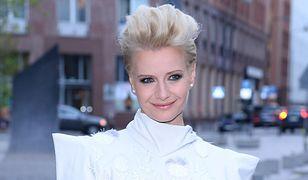 Małgorzata Kożuchowska zapuściła włosy. Wygląda zupełnie inaczej