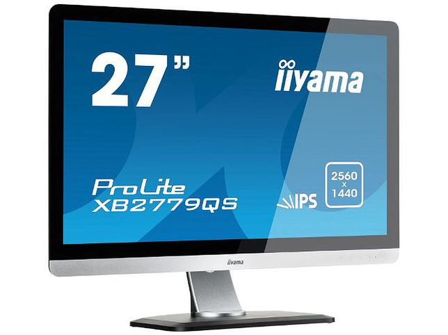 """Iiyama: 27"""" monitor z rozdzielczością WQHD 2560 x 1440"""