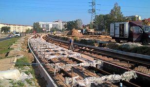 Budowa trasy tramwajowej na Nowodwory. Otworzą ul. Światowida