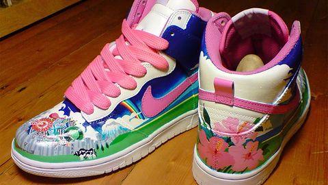 Książe kosmosu wylądował na butach Nike