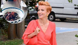 Katarzyna Zielińska pokazała, co je na śniadanie