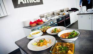 Dania kuchni świata z warsztatów kulinarnych Amica