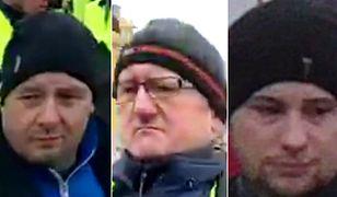 Funkcjonariusze zwracają się z prośbą o pomoc w ustaleniu tożsamości tych mężczyzn