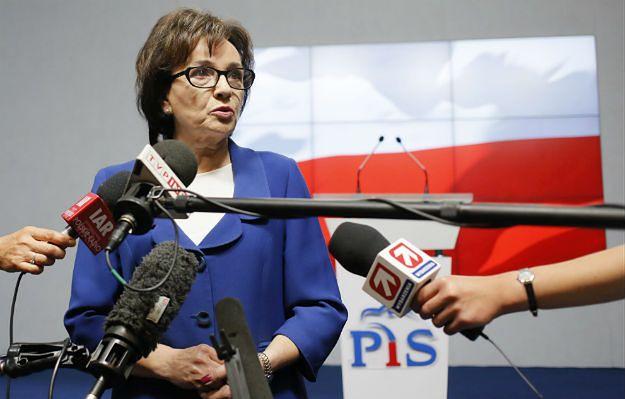 Elżbieta Witek o sondażach: nie wpadamy w triumfalizm