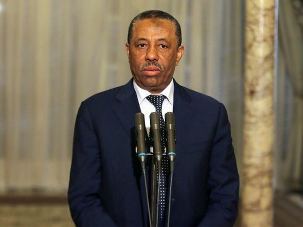 Premier Libii Abdullah al-Thinni