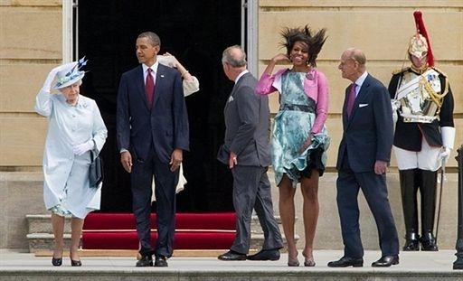 Co żona Obamy ma pod sukienką? - zdjęcia