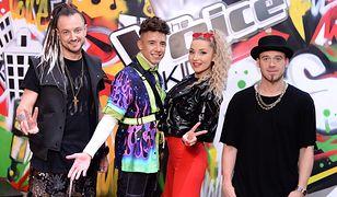 """Baron, Dawid Kwiatkowski, Cleo i Tomson - jurorzy """"The Voice Kids"""""""