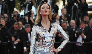 Modelki na czerwonym dywanie w Cannes