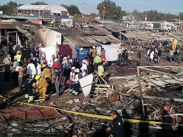 Eksplozja fajerwerków w Meksyku. Wiele ofiar
