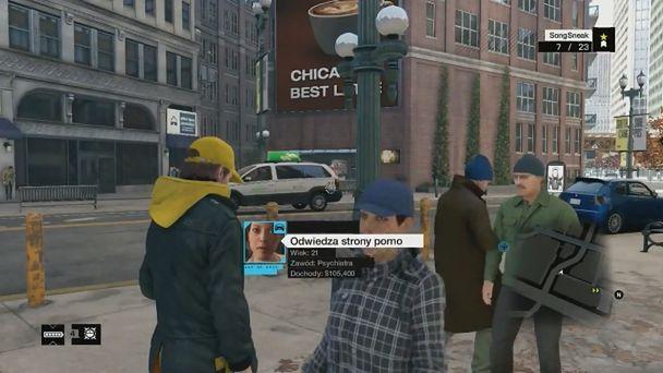 Co ja gram: Watch Dogs - rozbijamy gang i bawimy się w superbohatera