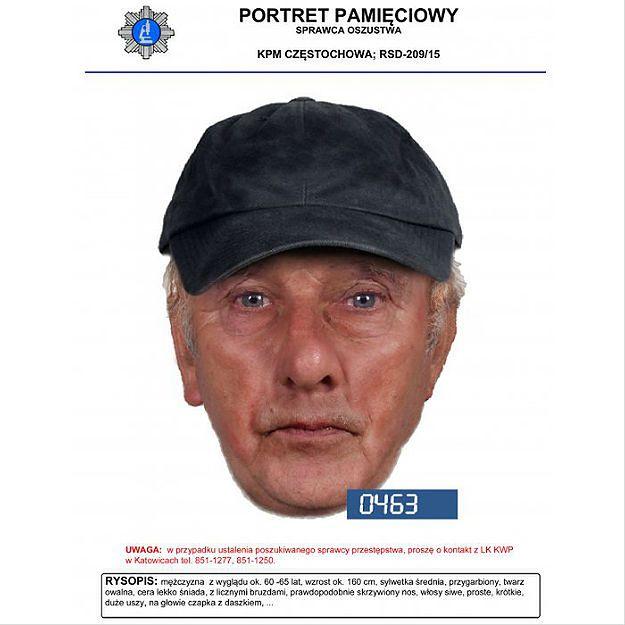 Oszukał właściciela kantoru w Częstochowie na dużą kwotę. Rozpoznajesz go?