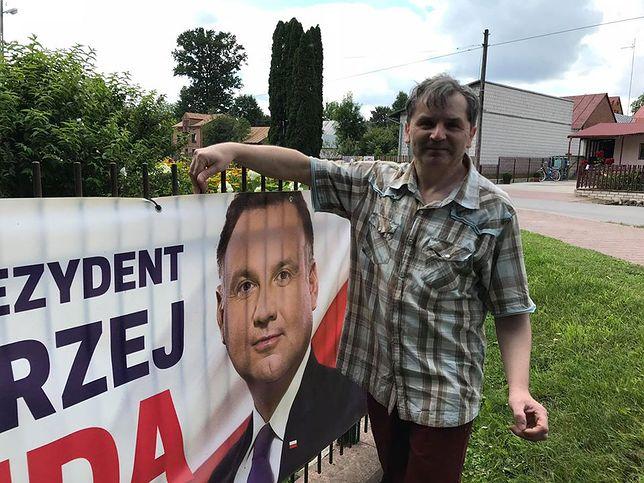 Wybory prezydenckie. W Wólce Ratajskiej Andrzej Duda uzyskał poparcie - rekordowe - przekraczające 97 proc.