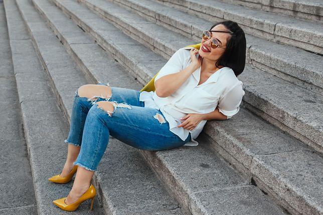 Jeansy to spodnie nie tylko dla szczupłych