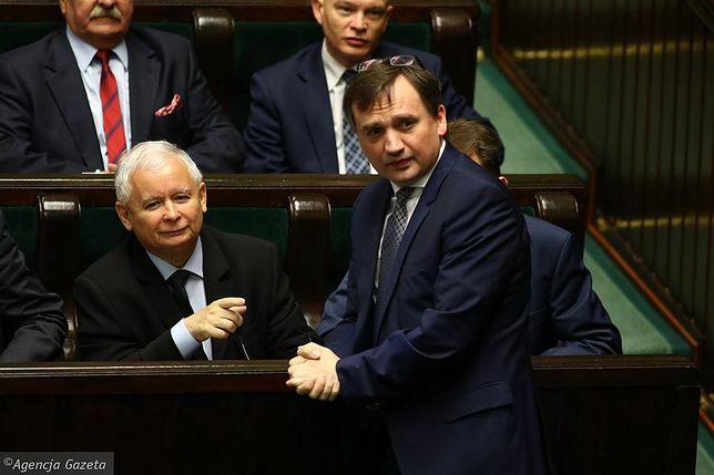 Jarosław Kaczyński i Zbigniew Ziobro zagłosują inaczej ws. RPO?