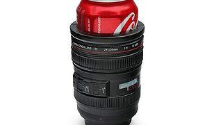 camera lens drink kooler