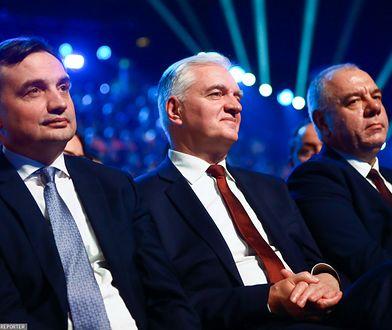 Rekonstrukcja rządu. Zbigniew Ziobro (Solidarna Polska) i Jarosław Gowin (Porozumienie)