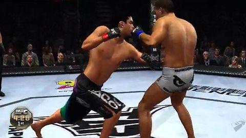 Kilka filmików z dema UFC 2010 Undisputed