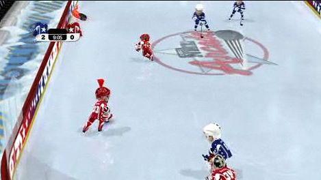 Rozgrywka: 3 on 3 NHL Arcade