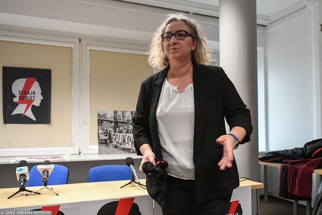 Marta Lempart wyrzuciła dziennikarzy TVP Info
