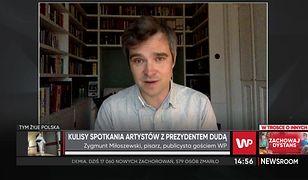 """Zygmunt Miłoszewski o spotkaniu z Andrzejem Dudą: """"Było, niestety, bardzo dobre i bardzo merytoryczne"""""""