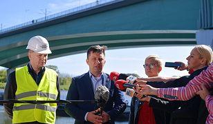 Michał Dworczyk poinformował, że tymczasowy rurociąg zacznie działać dopiero jutro