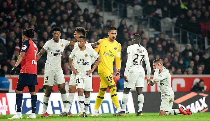 09b276fbf Ligue 1: Lille OSC rozbiło Paris Saint-Germain! Koronacja paryżan przełożona