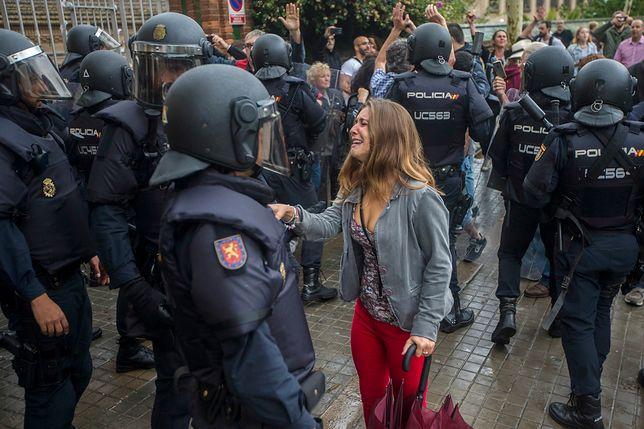 Aż 844 osoby zostały ranne w starciach w czasie referendum niepodległościowego w Katalonii