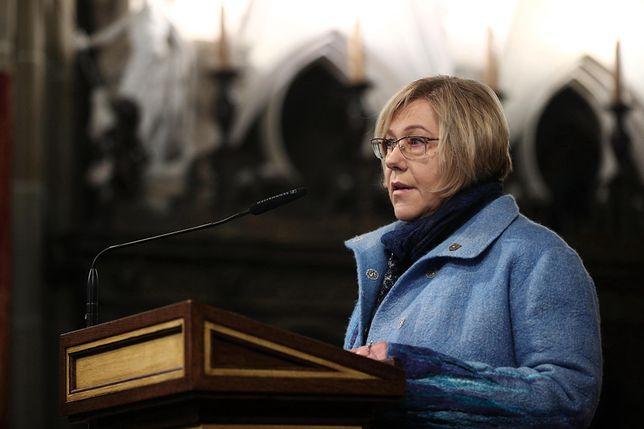 """Barbara Nowak stwierdziła, że kandydat KO na prezydenta jest """"głównym polskim genderystą""""."""