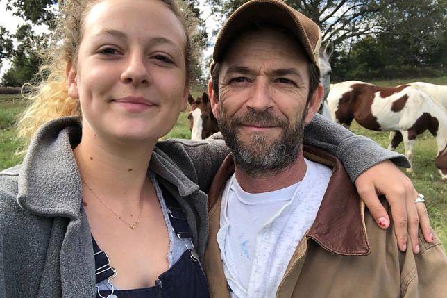 Luke Perry z córką