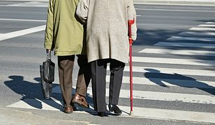 Rośnie liczba ofiar wypadków drogowych, w tym także osób starszych
