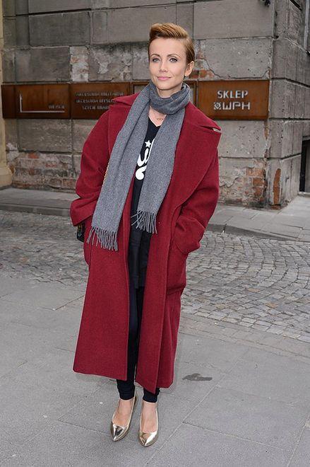 Kasia Zielińska na prezentacji marki Wojas