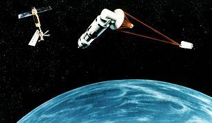 Pomysły umieszczenia tarczy antyrakietowej w kosmosie pojawiały się jeszcze w latach 80.