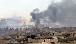 Starcia na przedmieściach Aleppo; 4 września