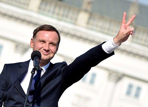 Andrzej Duda przed Pałacem Prezydenckim: naprawa Polski jest możliwa