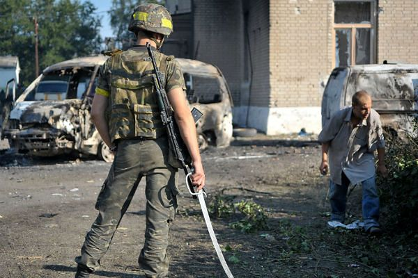 Donbas, Ukraina