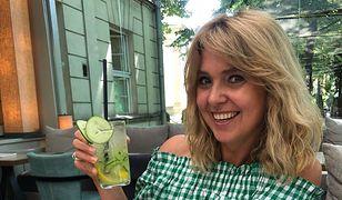 Ewa Wachowicz zaczyna dzień od soku z cytryny