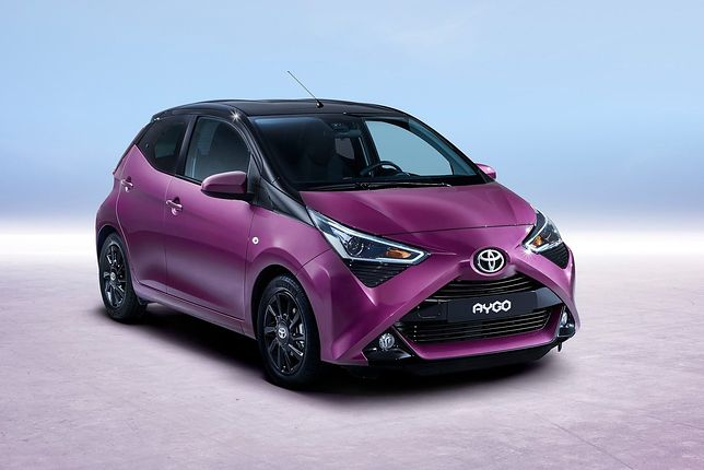 Toyota Aygo przechodzi lifting w stylu mangi. Nie ma już miejsca na nudne samochody