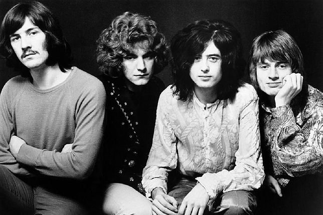 Od lewej: John Bonham, Robert Plant, Jimmy Page, John Paul Jones