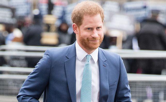"""Książę Harry o koronawirusie w Wielkiej Brytanii: """"Sytuacja wygląda znacznie lepiej"""""""