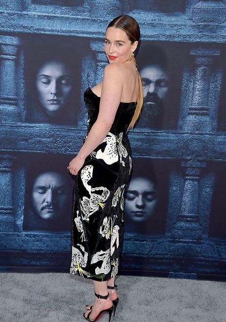 Emilia Clarke w kwietniu 2016