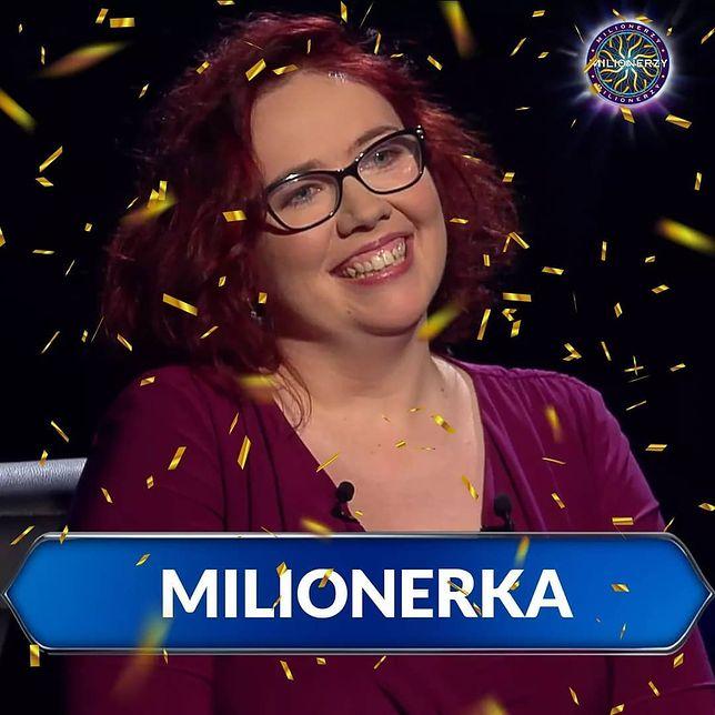 """Katarzyna Kant-Wysocka została """"Milionerką"""""""