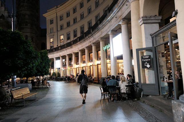 Warszawa. Plac Zbawiciela