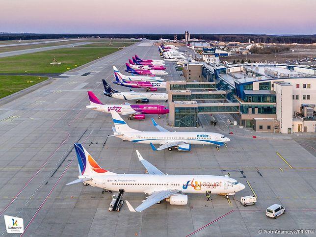 Śląskie. Z lotniska w Pyrzowicach korzysta coraz więcej pasażerów.